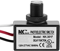 Mini Fotocélula Interruptor Fotoeléctrico del Interruptor Lámpara Sensor De Conmutación Luz Led 120-277V