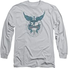 Bon Jovi Heart Dagger Wings Logo - Adult Long-Sleeve T-Shirt