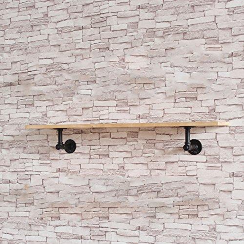 CJH Vintage Pijp muur partitie plank schoenen schoen muur Display Rack plank