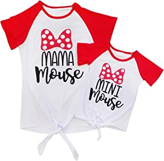 Mom Mommy & Me T-Shirt - Toddler Girls Teens Moms - Matching Mom Daughter Outfits