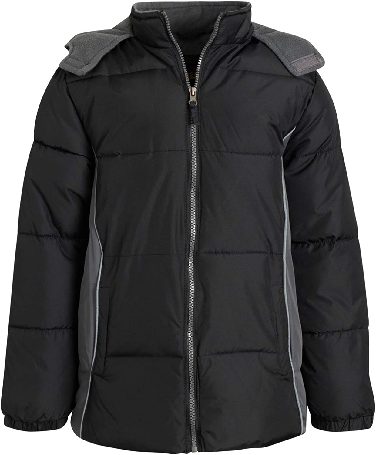 iXtreme Boys' Winter Jacket - Fleece Water R Puffer Max 56% OFF Year-end gift Bubble Lined