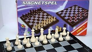 شطرنج مغناطيس ثلاثه في واحد