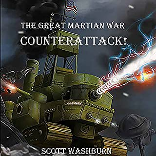 The Great Martian War: Counterattack cover art