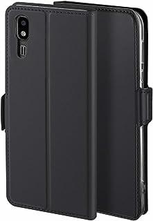 Libra_J Case for Samsung Galaxy A2 Core case, [Stand Function] [Card Slot] [Magnet] [Anti-Slip] Premium Leather Flip Case ...