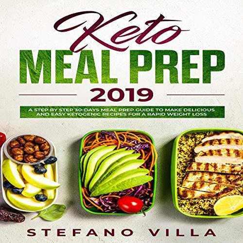 Keto Meal Prep 2019 audiobook cover art