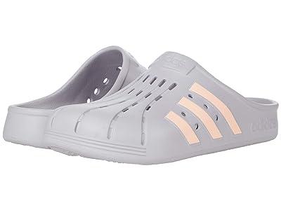 adidas Adilette Clog (Glory Grey/Pink Tint/Glory Grey) Shoes