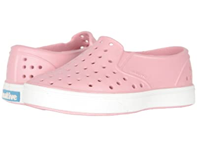 Native Kids Shoes Miles (Toddler/Little Kid) (Princess Pink/Shell White 1) Girls Shoes