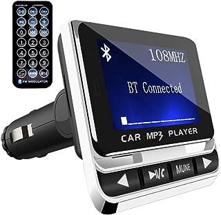 comprar comparacion Transmisor FM Bluetooth para Coche, ToHayie Reproductor MP3 Mechero de Coche, Manos Libres Coche, Ranura para Tarjeta de M...