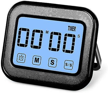 Jullyelegant Portable 60 Minutes Minuterie de Cuisine Compte à rebours Manuel Alarme Rappel Horloge Cuisine Mécanique Cuisson Minuterie Maison Outils de Cuisson Minuteurs
