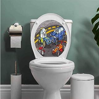 ThinkingPower Boys Room Removable Sticker Kids Playroom Design Vinyl Bathroom Decor W13XL16 INCH
