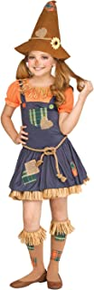 Tween Girls Sweet Scarecrow Halloween Costume