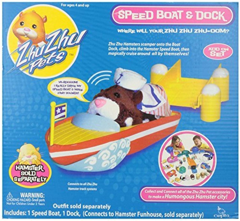 Zhu Zhu Pets Speed Boat & Dock by Zhu Zhu Pets