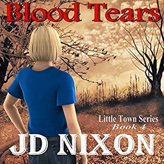 Blood Tears audiobook cover art