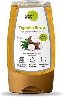 Pumperlgsund Tapioka Sirup Zuckerfrei Fiber Sirup für Fluff Low Carb 1 x 250 g, 27,80 €/kg