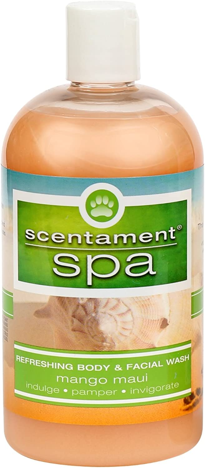 Best Shot Pet Scentament Spa Mango Maui Seasonal Facial & Body Wash, 16 oz