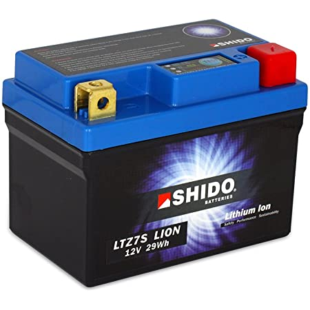 Shido Lithium Motorradbatterie Lifepo4 Ltz7s 12v Auto