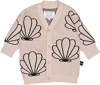 HUXBABY Unisex Shell Knit Cardigan (Infant/Toddler)