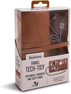 IF Bookaroo Travel Tech-Tidy, Tech Organiser, Travel Pouch Organizer borsa 16 Centimeters Marrone (Brown)