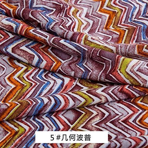 KIU Nigeriaanse print lycra stof voor leggings en ondergoed stretchy Jersey stof 50 * 175cm/stuk