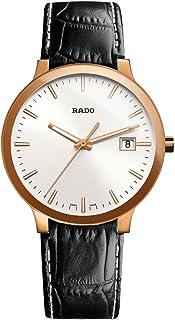 Rado Men's Quartz Watch, Analog Display and Leather Strap R30554105
