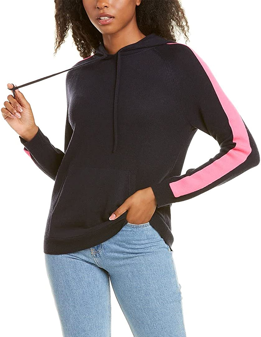 Chinti Parker Sleeve Stripe Hoodie Wool Cashmere-Blend Max 69% OFF Max 73% OFF