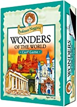 Professor Noggin's Wonders of The World - Educational Trivia Card Game for Kids - 180 Questions - Ages 7+