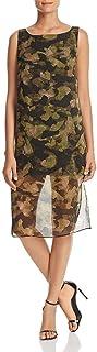 فستان كينيث كول تراكب عمودي للنساء
