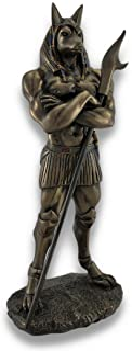 Pacific Trading Egyptian God Anubis Statue Deity Jackal Figurine