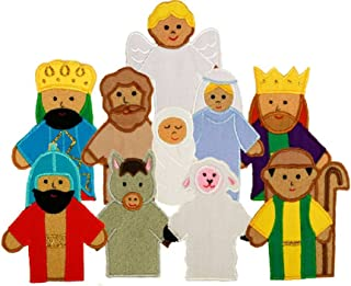 My Growing Season Nativity Finger Puppets