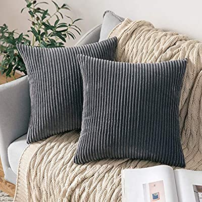 MIULEE Set of 2 Decorative Throw Pillow