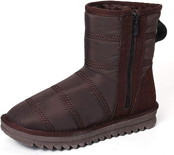 gracosy Waterproof Outdoor Anti Slip Womens Snow Boots