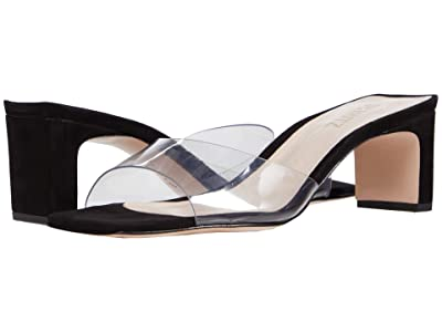 Schutz Onoria (Transparent(Black) Vinil) Women