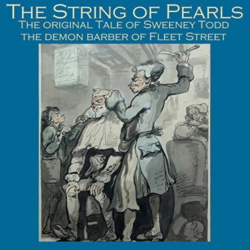 The String of Pearls audiobook cover art