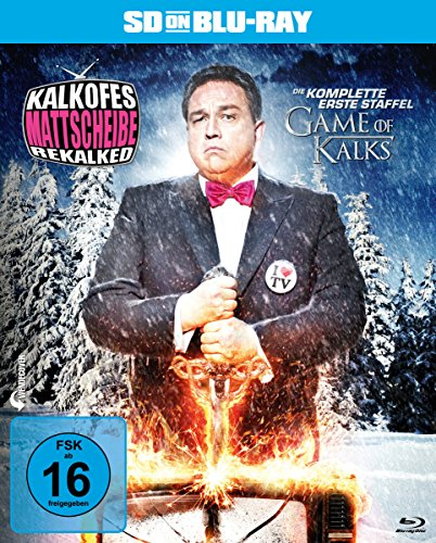 Kalkofes Mattscheibe Rekalked - Die komplette 1. Staffel: Game of Kalks  (SD on Blu-ray)
