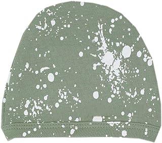 قبعة أطفال عضوية للجنسين من L'ovedbaby (رذاذ رغوة البحر، 3-6 أشهر)