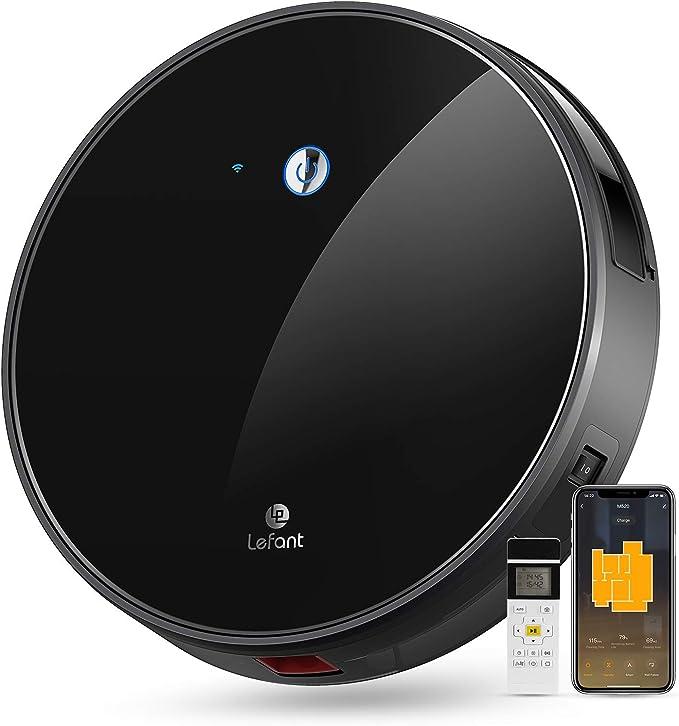 1419 opinioni per Aspirapolvere Robot, Aspirazione 2200Pa, Controllo WiFi, Funziona con Alexa e