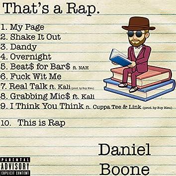 That's a Rap!