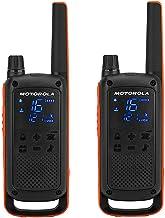 Motorola Talkabout T82 PMR Funkgerät (Bis zu 10 km Reichweite, IPx2 Spritzwasserschutz,..