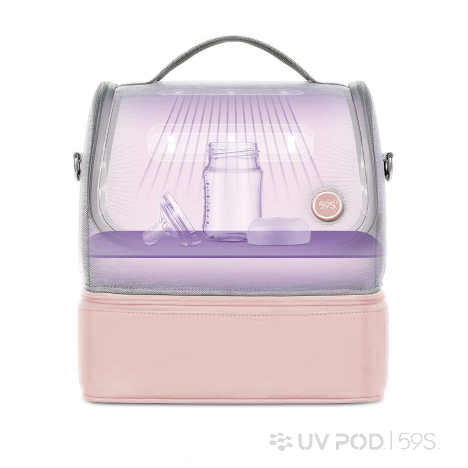 Portable USB Rechargeable LED U-V Disinfect-ion Bag for Baby Bottle//Underwear//Toothbrush//Beauty Tools// ice Trading U-V Sterilizer Bag