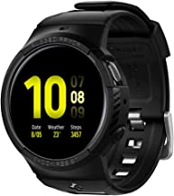 Spigen Rugged Armor Pro Designed for Galaxy Watch Active 2 Case with Strap Bands 44mm - Black