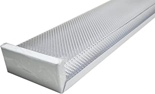 Orilis White 80W 4 Ft. 2-light LED Wraparound Ceiling Fixture with 2x LED T8 40 Watt Tubes - 6500K - 8000 Lumens