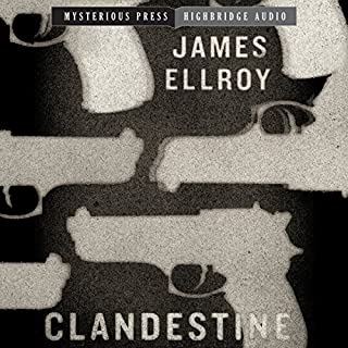 Clandestine audiobook cover art