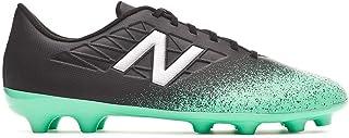 620e19011 New Balance Furon v5 Dispatch AG Niño, Bota de fútbol, Neon Emerald-Black