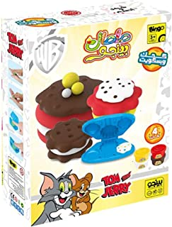 Bingo Tom and Jerry Cookie and Biscuits Maker Play Dough Toy for Kids