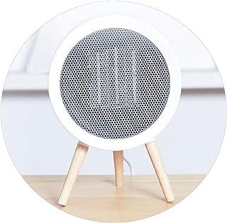 MAHZONG Radiador eléctrico Calentador de escritorio pequeño ahorro de energía de ahorro de energía de calefacción de cerámica Cuerpo calentamiento rápido Adecuado for su escritorio del hogar del Estud