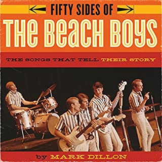 Fifty Sides of the Beach Boys audiobook cover art