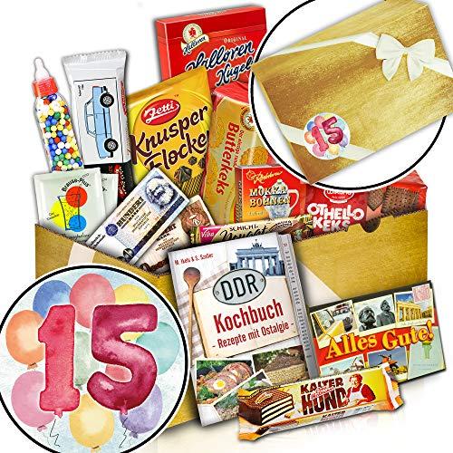 Süßes DDR Geschenk + Zum 15. Hochzeitstag + 15 Jubiläum Geschenk