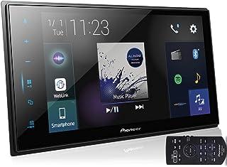 Multimídia 2Din 8 Polegadas Touch Tooth TV Espelhamento USB FM Web Link, Pioneer, Pacote de 1