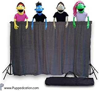 portable puppet stage