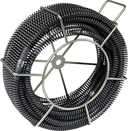 5 Rohrreinigungsspiralen Ø 16mm im Tragekorb von ROWO® kompatibel ROTHENBERGER®